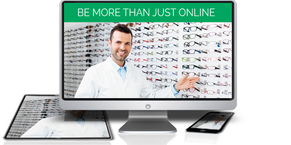 eyevertise optical websites